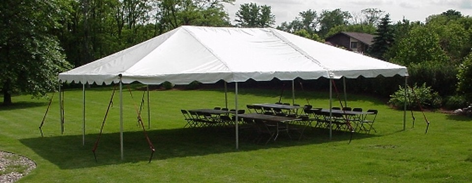 Tables, Chairs And Tents For Rent